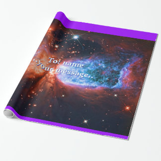 Name, The Swan, Constellation Cygnus space image Wrapping Paper