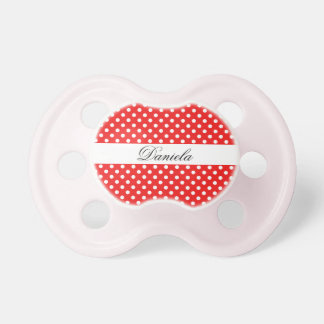 Name white points on red pacifier