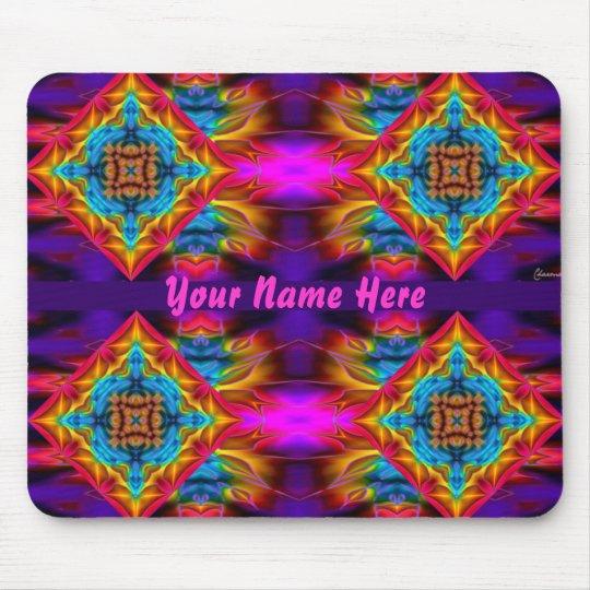 Name your Psychedelic Kaleidoscope Mousepad