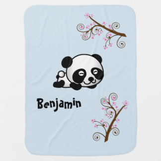 Named Panda Blanket