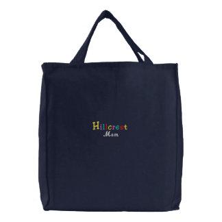 Namedrop Nation_Hillcrest Mom Multi-colored Canvas Bag