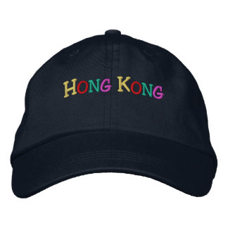 Namedrop Nation_Hong Kong multi-colored Embroidered Baseball Caps