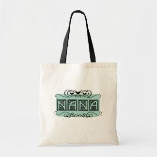 Nameplate Nana T-shirts and Gifts Budget Tote Bag