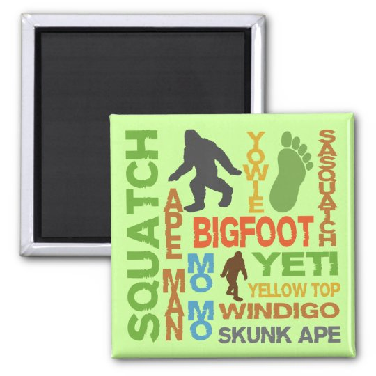 Names For Bigfoot Magnet