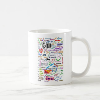 Names of God / God's Names for Us Basic White Mug