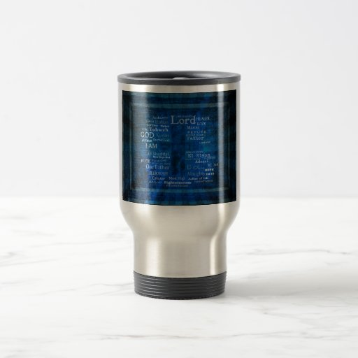 Names of God,  Holy Names listed with  image Mugs