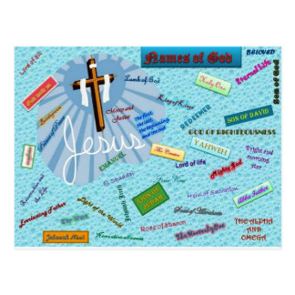 Names of God Post Card