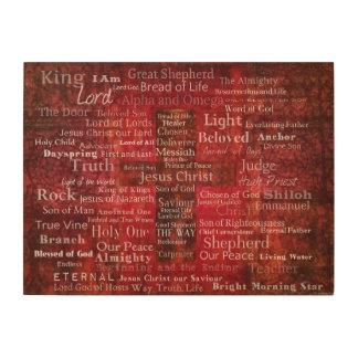 Names of Jesus - Contemporary Christian art