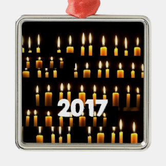 Nameste  Candle Decorations 2017 HAPPY NEWYEAR