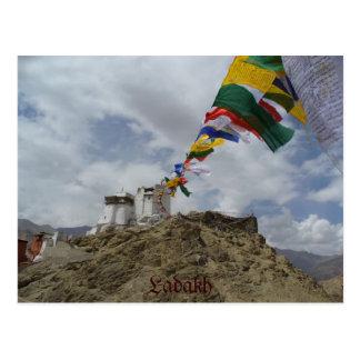 Namgyal Tsemo gompa Leh Ladakh India Postcard