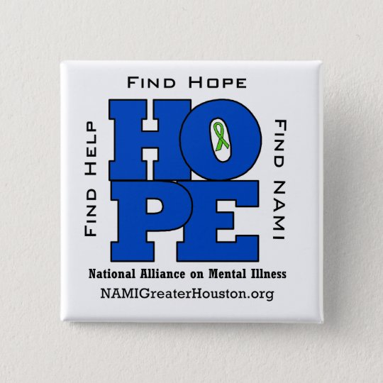 NAMI Greater Houston HOPE Square Button