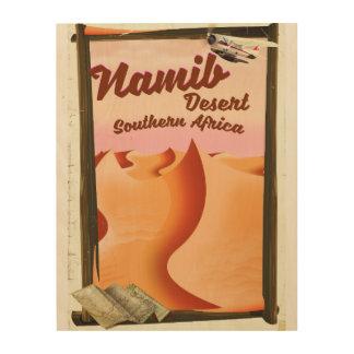 Namib Desert, Southern Africa travel poster