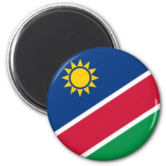 namibia 6 cm round magnet