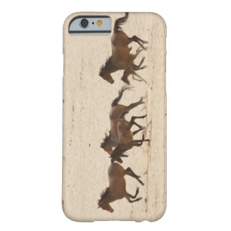 Namibia, Aus. Group of running wild horses on Barely There iPhone 6 Case