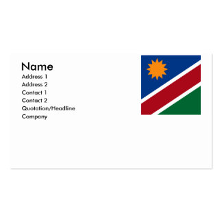 Namibia Business Cards