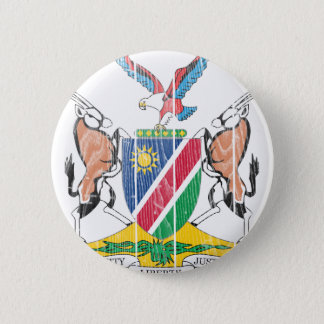 Namibia Coat Of Arms 6 Cm Round Badge