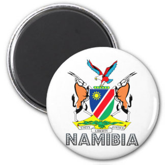 Namibia Coat of Arms 6 Cm Round Magnet