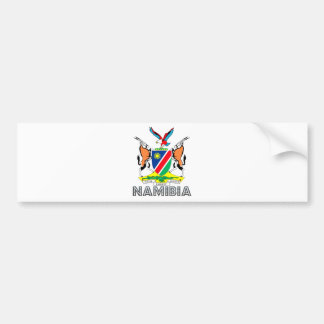 Namibia Coat of Arms Bumper Sticker