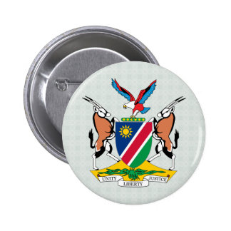 Namibia Coat of Arms detail 6 Cm Round Badge