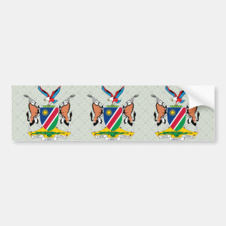 Namibia Coat of Arms detail Bumper Sticker