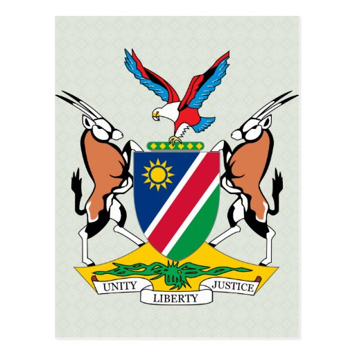 Namibia Coat of Arms detail Post Cards