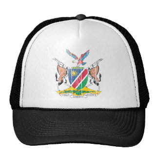 Namibia Coat Of Arms Mesh Hats
