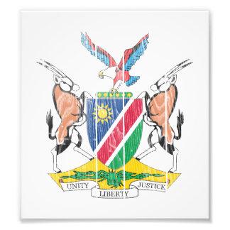 Namibia Coat Of Arms Photo Print