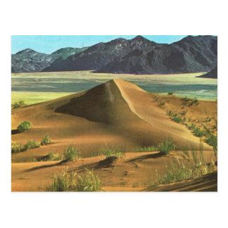 Namibia, desert and mountains postcard