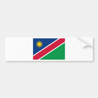 Namibia Flag Bumper Sticker
