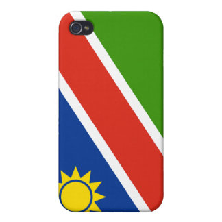 Namibia Flag Cover For iPhone 4