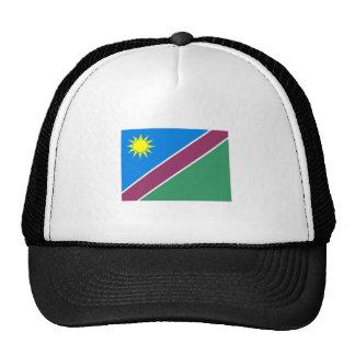 Namibia Flag Trucker Hats