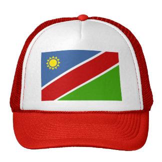Namibia Flag Mesh Hats
