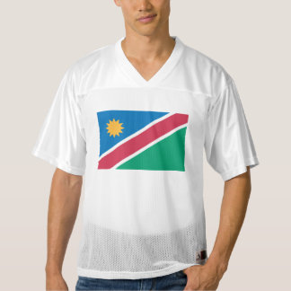 Namibia Flag Men's Football Jersey