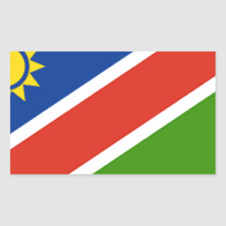 Namibia Flag Rectangular Sticker