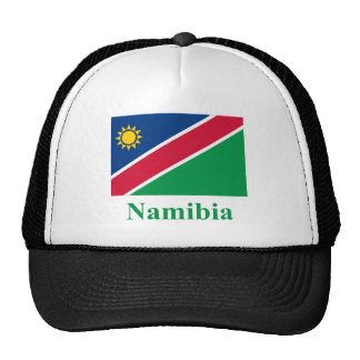 Namibia Flag with Name Cap