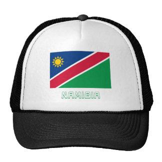 Namibia Flag with Name Cap