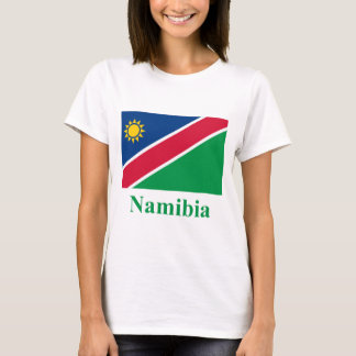 Namibia Flag with Name T-Shirt