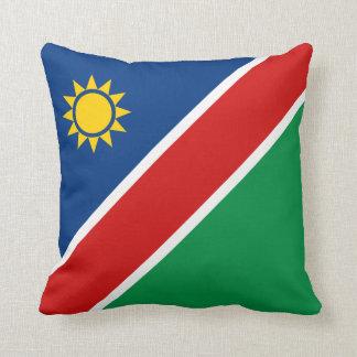 Namibia Flag x Flag Pillow