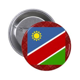 Namibia High quality Flag 6 Cm Round Badge