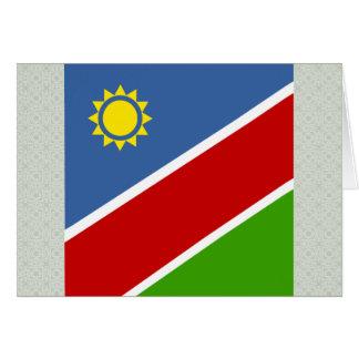 Namibia High quality Flag Greeting Card