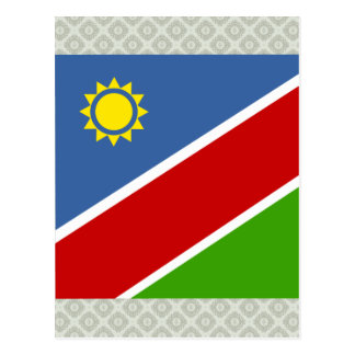 Namibia High quality Flag Postcard