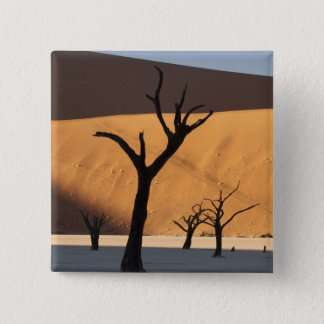 Namibia, Namib Desert, Sossusvlei, 15 Cm Square Badge