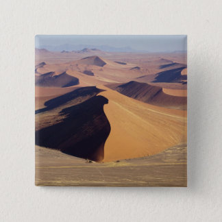 Namibia, Namib-Naukluft Park. Aerial view of 15 Cm Square Badge