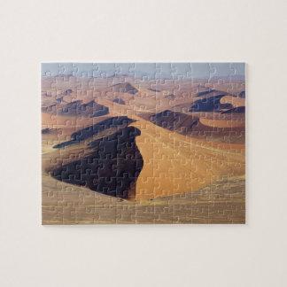 Namibia, Namib-Naukluft Park. Aerial view of Jigsaw Puzzle