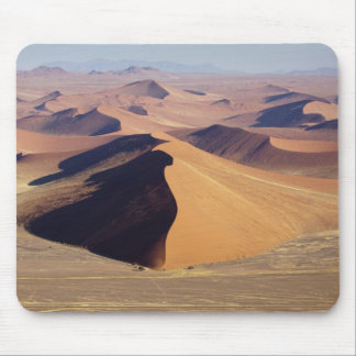 Namibia, Namib-Naukluft Park. Aerial view of Mouse Mat