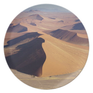 Namibia, Namib-Naukluft Park. Aerial view of Plate