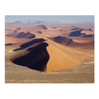 Namibia, Namib-Naukluft Park. Aerial view of Postcard