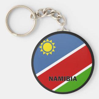 Namibia Roundel quality Flag Basic Round Button Key Ring