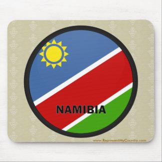 Namibia Roundel quality Flag Mouse Pad