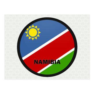 Namibia Roundel quality Flag Postcard